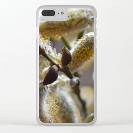Fluffy spring Clear iPhone Case