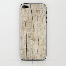 Old Wood iPhone & iPod Skin