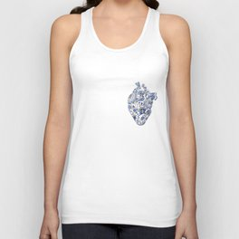 Broken heart - kintsugi Unisex Tank Top