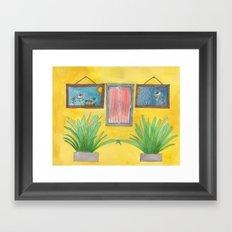 four of one kind Framed Art Print