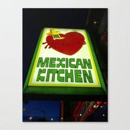 Mama's Kitchen in Belltown Seattle Canvas Print