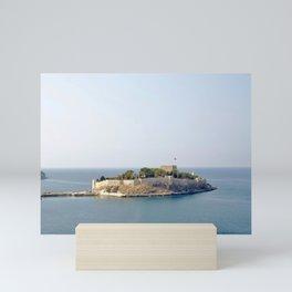 Island of Guvercinada Mini Art Print