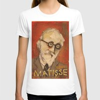matisse T-shirts featuring 50 Artists: Henri Matisse by Chad Beroth
