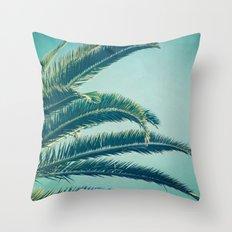 California Palm  Throw Pillow