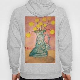 Swan Vase Watercolor Hoody