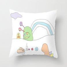 Funland 4 Throw Pillow