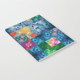 High Definition Geometric Quilt 1 Notebook