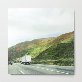 California mountains Metal Print