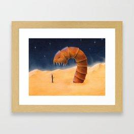 Paul encounters the Maker Framed Art Print