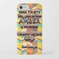 vonnegut iPhone & iPod Cases featuring Vonnegut by nicole martinez