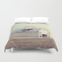 american beauty Duvet Covers featuring American Beauty Vol 15 by Farmhouse Chic