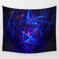 northern lights Wall Tapestries featuring Northern Lights by Cs025