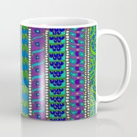 greece Mugs featuring Greece by Kimberly McGuiness