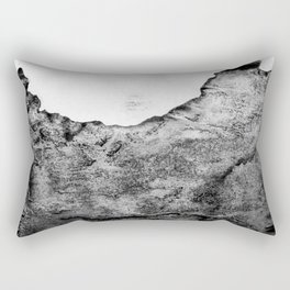 The Eve / Charcoal + Water Rectangular Pillow