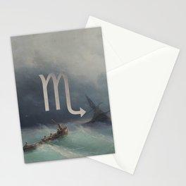 Fine Zodiac / Scorpio Stationery Cards