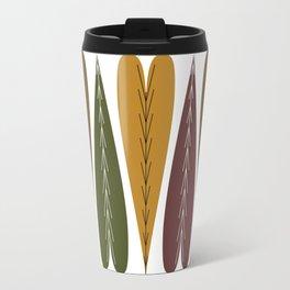 Evergreen Autumn Hearts Travel Mug