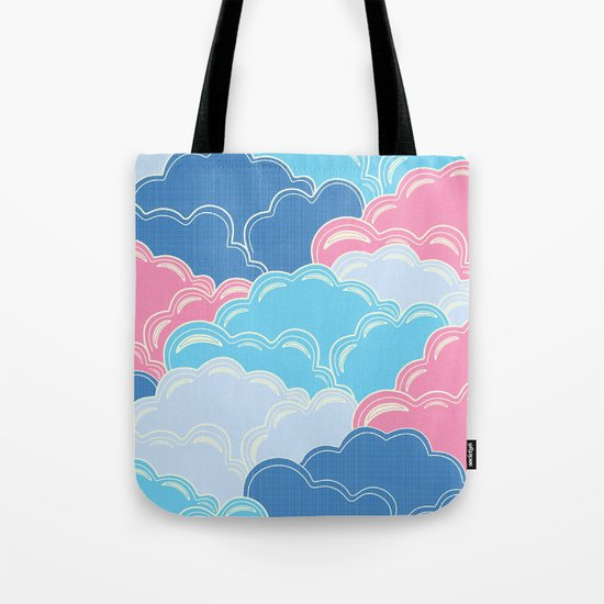 Pillows in the Sky (Clouds no.2) Tote Bag