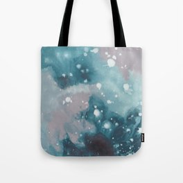 Blue Lilac Tote Bag