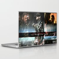 metal gear solid Laptop & iPad Skins featuring metal gear solid V  , metal gear solid V  games, metal gear solid V  blanket, by Eirarose