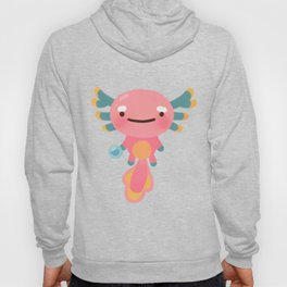 Umpearl - Axolotl with magic pearl Hoody
