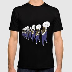 Mardi Gras - I Came for the Bands! MEDIUM Mens Fitted Tee Black