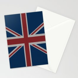 Knitted UnionJack Stationery Cards