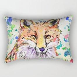 Red Tail Rectangular Pillow