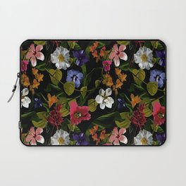 Moody Floral Garden Laptop Sleeve