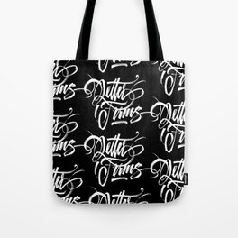 Letter Forms Tote Bag