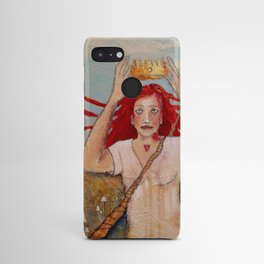 Crowning Herself Android Case