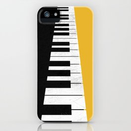 Piano keys iPhone Case