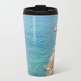 A small inlet suitable for swimming Travel Mug