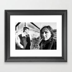 In your back yard Framed Art Print