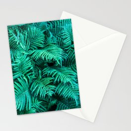 Fern Photography | Emerald | Turquoise |Tropical Leaves | Art Print Stationery Cards
