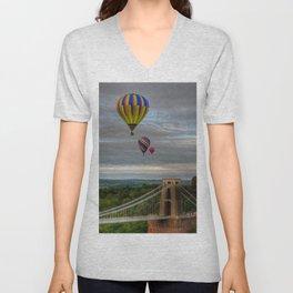 Bristol Balloon Fiesta Unisex V-Neck