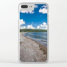 Saaremaa 1.4 Clear iPhone Case