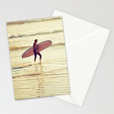 Golden Surf Stationery Cards
