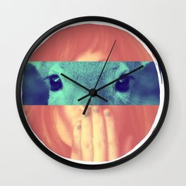 Regard de biche Wall Clock