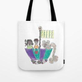 Jessie and Jakey - Sailing Tote Bag