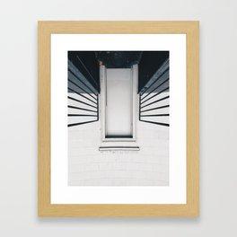 one point Framed Art Print