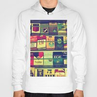 cigarette Hoodies featuring cigarette collection by gzm_guvenc