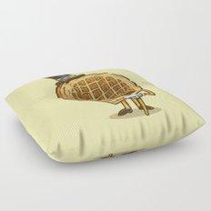 The Fancy Waffle Floor Pillow