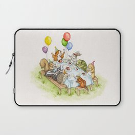 Birthday Party Picnic Laptop Sleeve