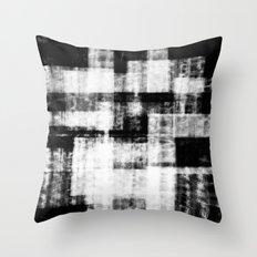 Black & White Abstract Series ~ 1 Throw Pillow