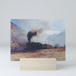 Mountain Train Mini Art Print