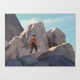 The Tracker Canvas Print
