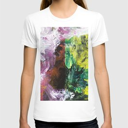 Sweet or Sour // abstract painting T-shirt