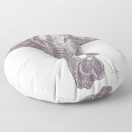 BALLPEN ELEPHANT 12 Floor Pillow