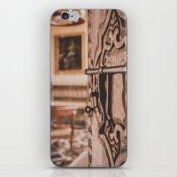 doors iPhone & iPod Skins featuring Doors by Gunjan Marwah