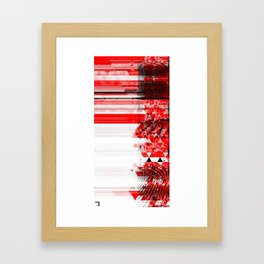 Red 18 Framed Art Print